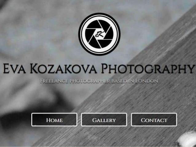 Webpage Eva Kozakova photography