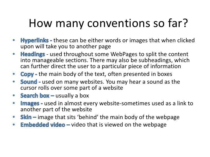 Web page analysis