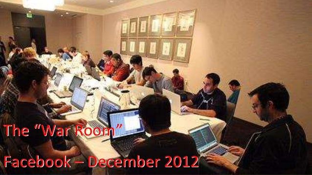 "14 @Dynatrace The ""War Room"" Facebook – December 2012"