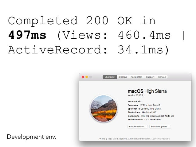 Total Views Activerecord Vanilla 497ms 460 ms 34 ms Fragment Cache Row 79 ms 74,6 ms 1 ms