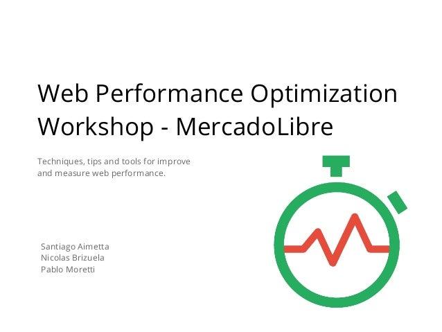 Web performance optimization - MercadoLibre