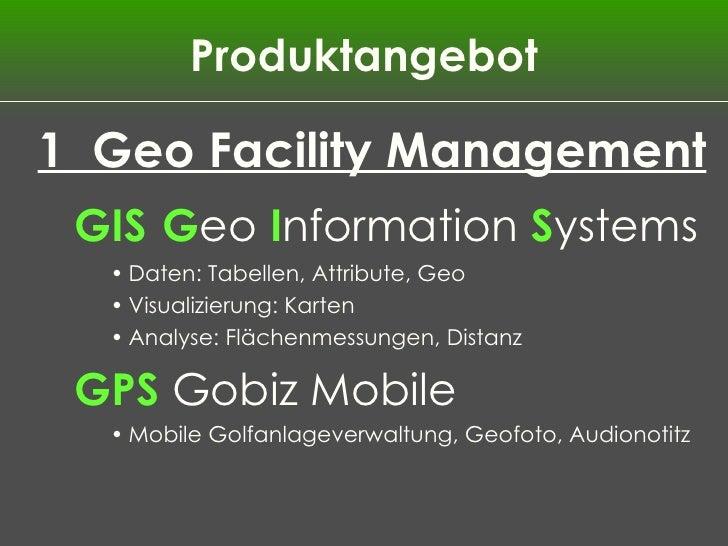 Golf GIS facility management Slide 3