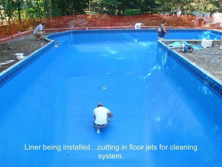 Precision Pool In Ground Pool Presentation