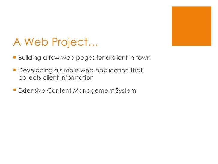 Web Project Management Todcon2008 Slide 2