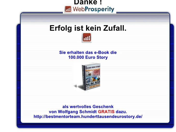 prosperous deutsch