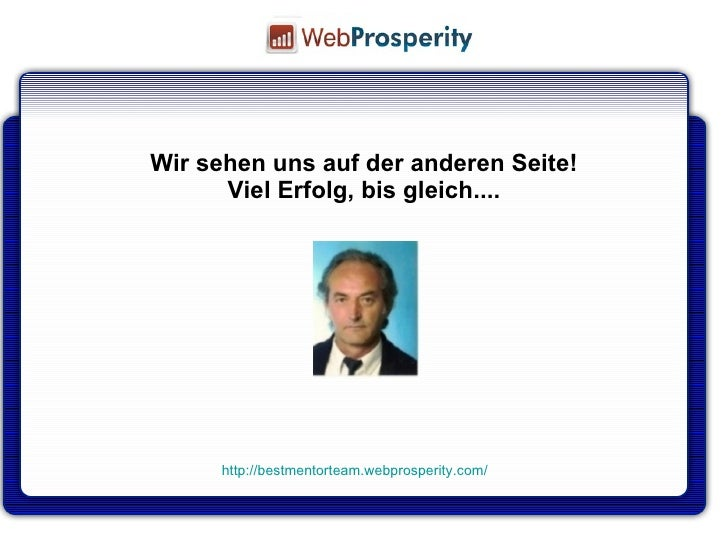 prosperity deutsch