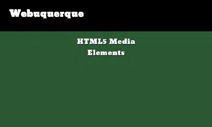 HTML5 Media Elements - The Good, The Bad and the Not So Attractive