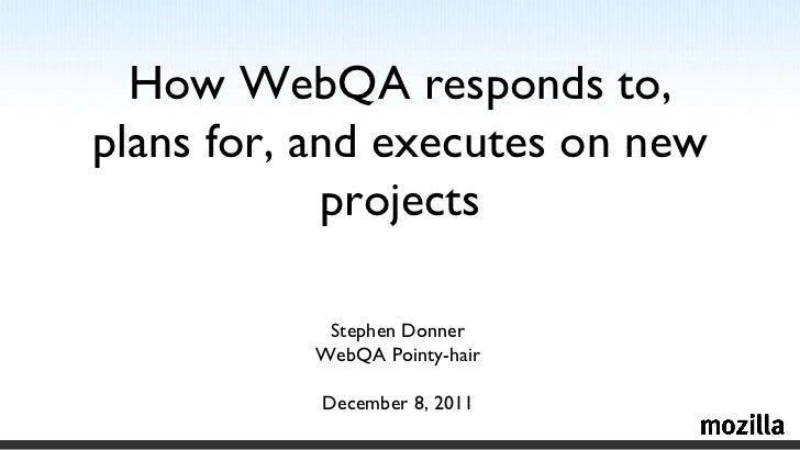 <ul>Stephen Donner <li>WebQA Pointy-hair
