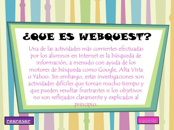 Webquest Slide 3