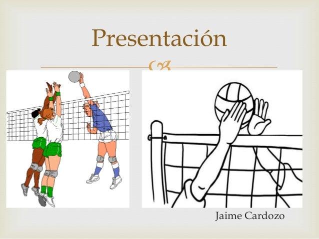 Presentación               Jaime Cardozo