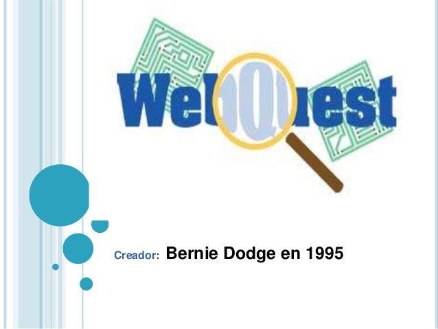 Creador: Bernie Dodge en 1995