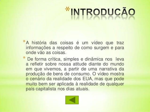 Story of Stuff (História das coisas - legenda português ...