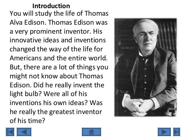 web quest brewer  thomas edison the wizard of menlo park 2