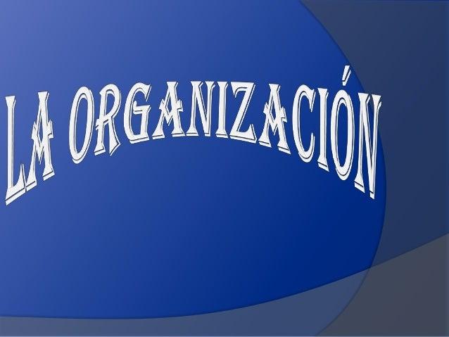 La Administración es la ciencia social y técnica encargadade la planificación, organización, dirección y control de losrec...