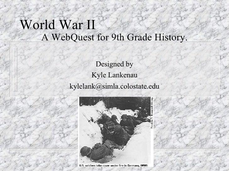 WebQuest WWII