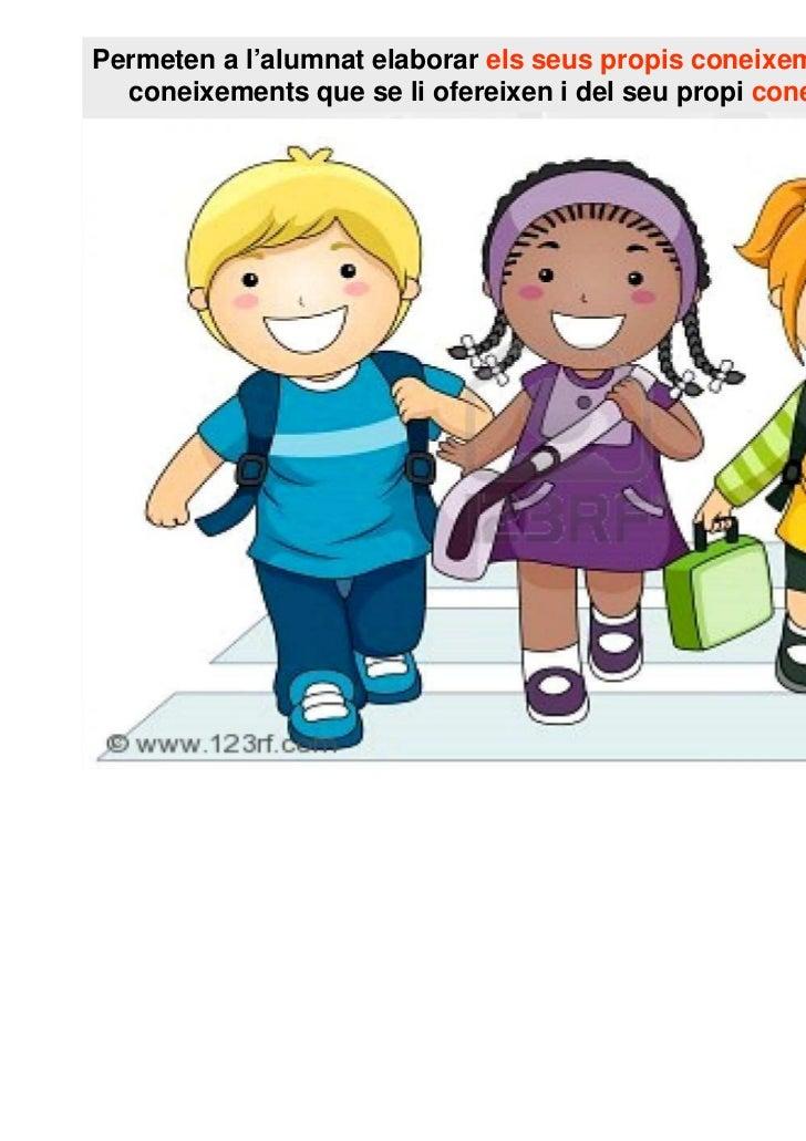 Permeten a l'alumnat elaborar els seus propis coneixements a partir del  coneixements que se li ofereixen i del seu propi ...