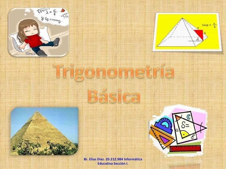 Br. Elias Diaz. 20.212.984 Informática Educativa Sección I.