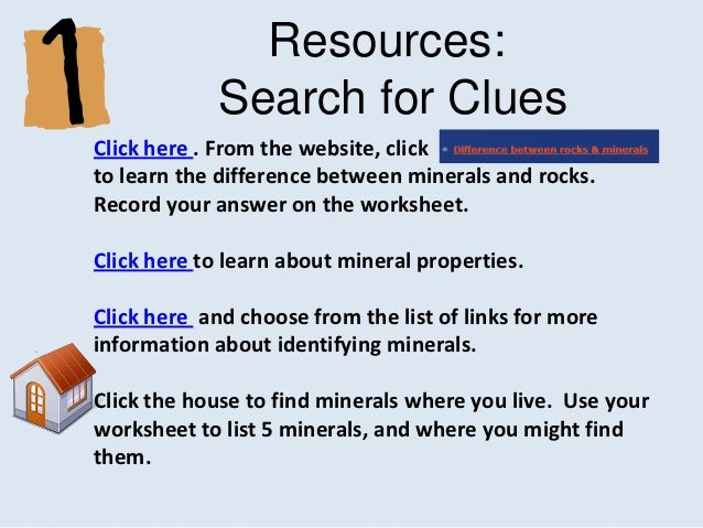 Webquest 4th grade really rocks online version