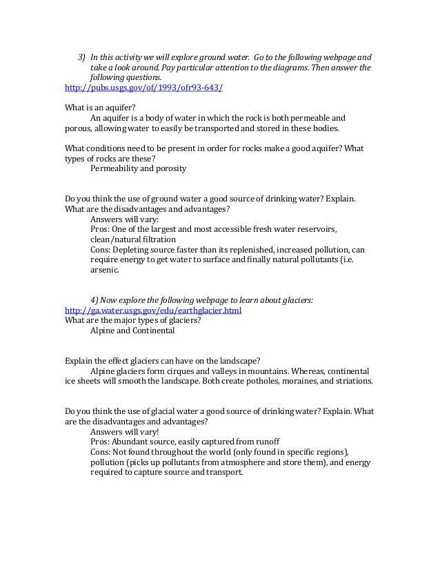 Webquestanswers