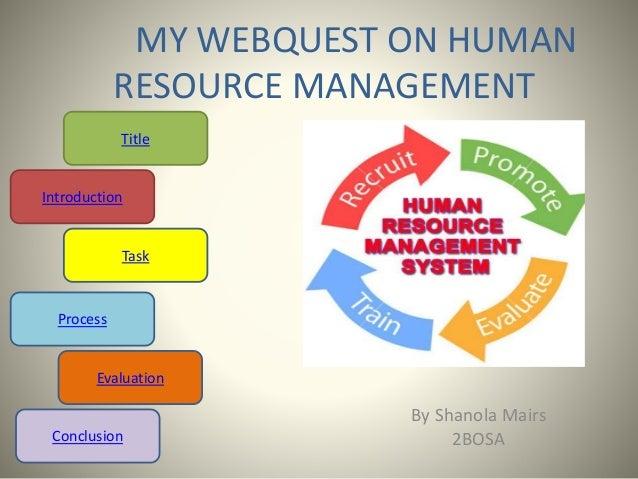 webquest edtech hrm
