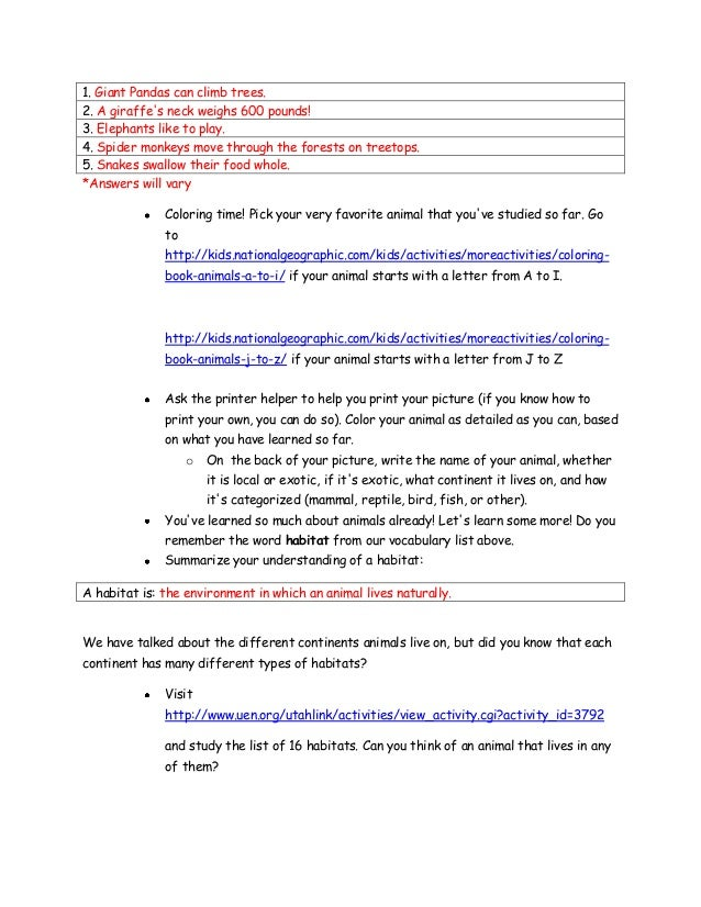 Webquest final answer guide