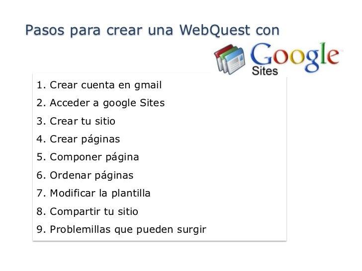 Webquest Cuales Son Los Puntos Para Crear Una Webquest
