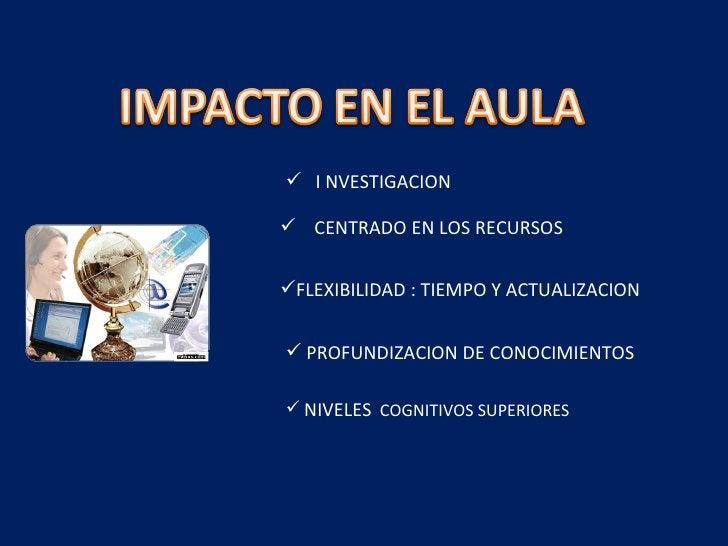 <ul><li>I NVESTIGACION </li></ul><ul><li>CENTRADO EN LOS RECURSOS </li></ul><ul><li>FLEXIBILIDAD : TIEMPO Y ACTUALIZACION ...