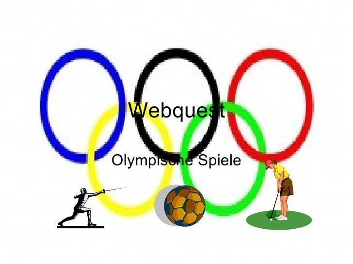 Webquest Olympische Spiele