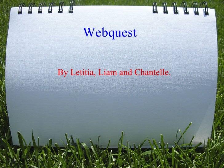 Webquest presentation