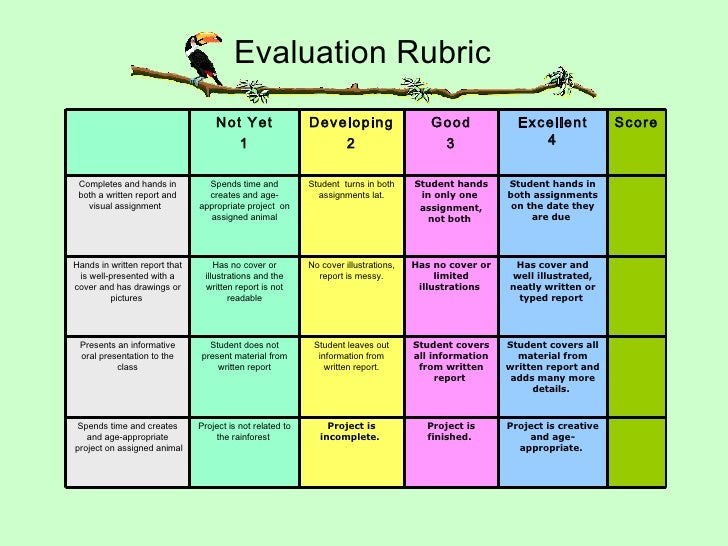 rubric for undergraduate thesis evaluation 2-17-12 1 graduate student thesis/dissertation proposal evaluation the attached evaluation tool (rubric) is designed to assist program faculty in the evaluation of their.