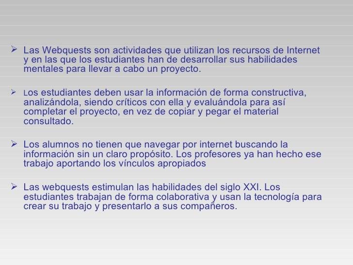 Webquests Slide 3