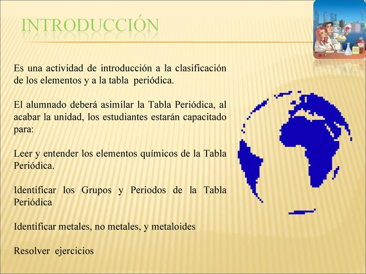 introduccin tareas proceso recursos evaluacin conclusiones 3 - Ejercicios De Tabla Periodica De Los Elementos Quimicos