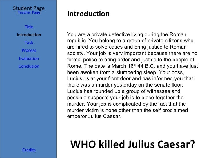 who killed julius caesar Watch unsolved history - season 1, episode 15 - who killed julius caesar: italian forensic investigator luciano garofano and harvard criminologist harold bursztajn examine the death of julius ca.