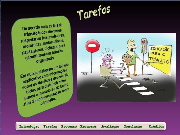 Webquest transito Slide 2
