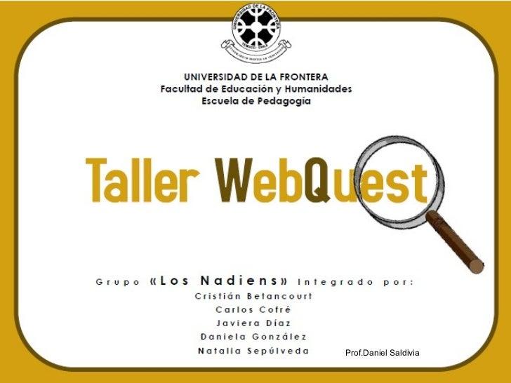 Prof.Daniel Saldivia