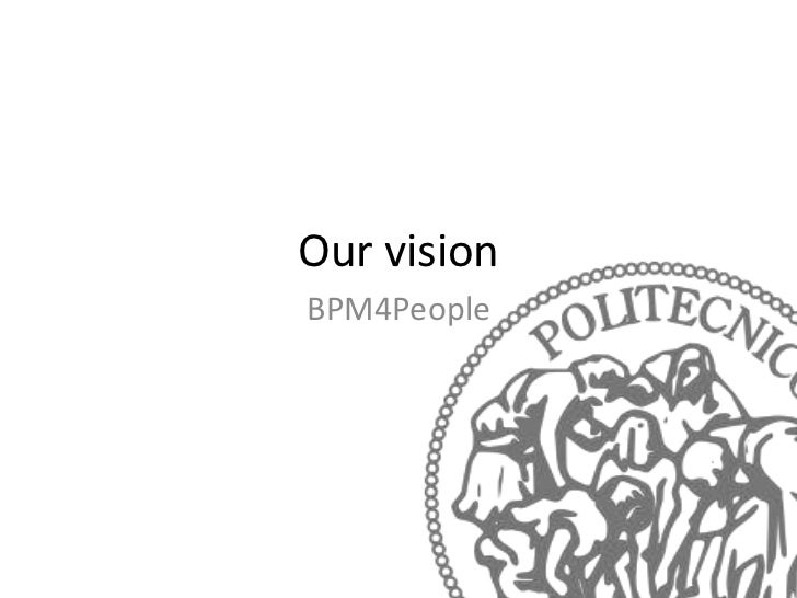 Our visionBPM4People