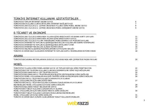 Webrazzi Türkiye İnternet Ekosistemi Raporu v1.1 Slide 3