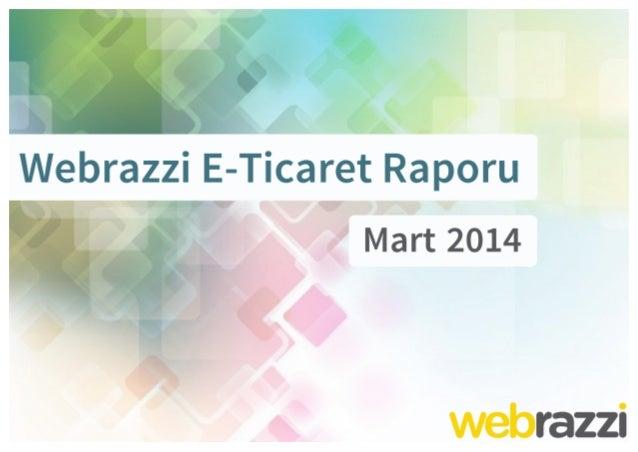 Webrazzi E-Ticaret Raporu Slide 1
