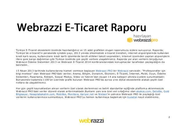 Webrazzi E-Ticaret Raporu Slide 2
