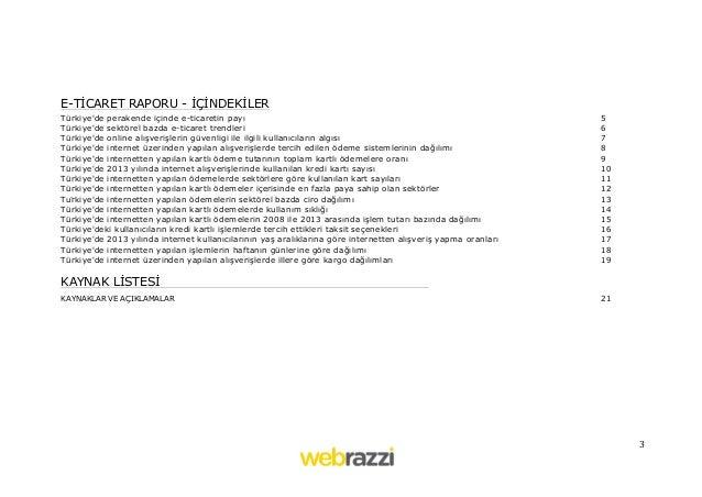 Webrazzi E-Ticaret Raporu Slide 3