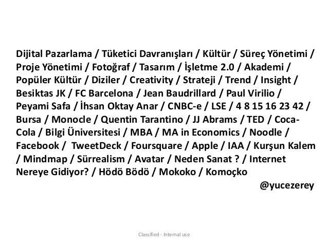Sosyal Medya Tüketici Davranışı @Webrazzi Summit Slide 2