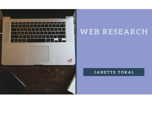Web	Research	 Jane-e	Toral	 DigitalFilipino.com