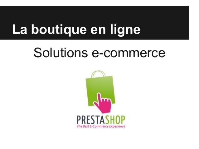 Attention ! Une boutique virtuelle n'est pas un complément de la boutique réelle