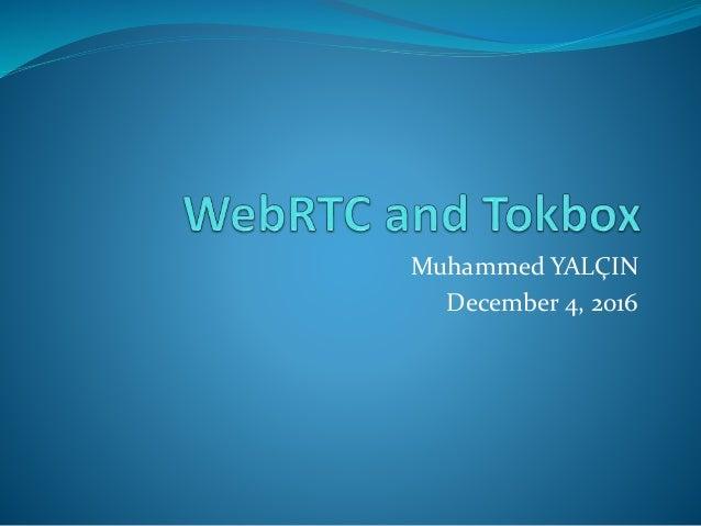 Muhammed YALÇIN December 4, 2016