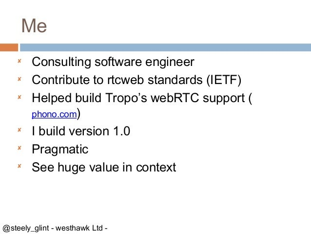 Web rtc changing the connected world Slide 2