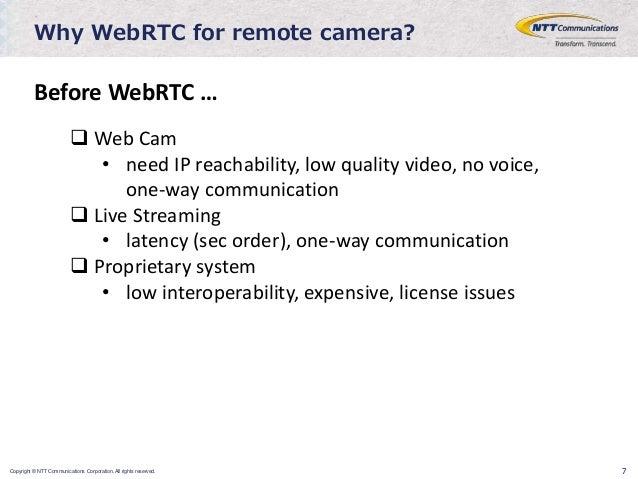 Web rtc for iot, edge computing use cases