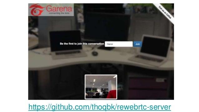 WebRTC in action