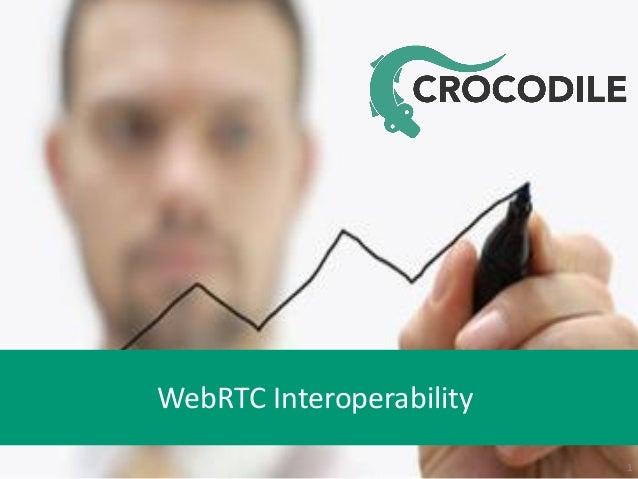 WebRTC Interoperability 1