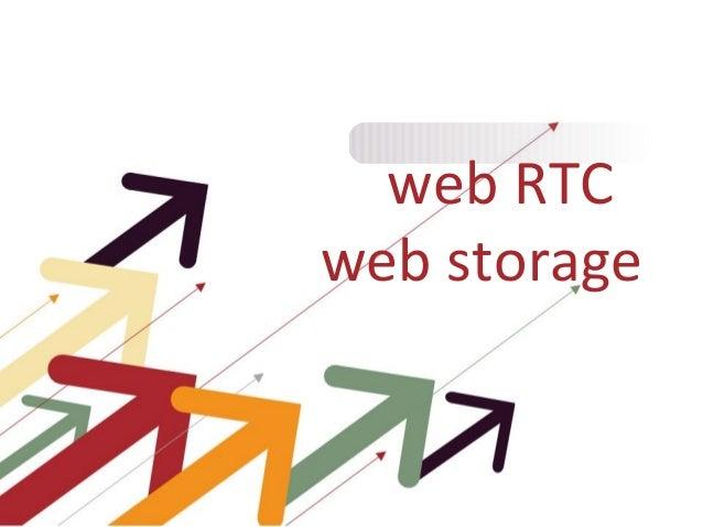 web RTCweb storage