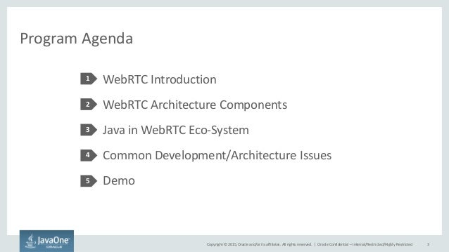WebRTC with Java Slide 3